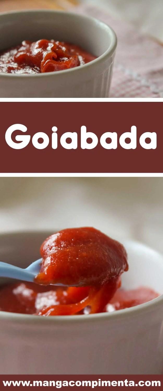 Receita de Goiabada Caseira - um doce bastante clássico e delicioso para fazer em casa!