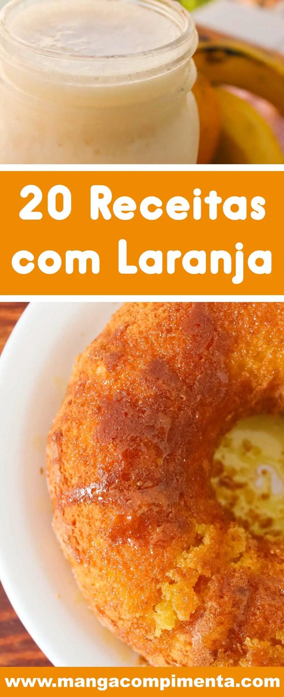 Receitas com Laranja - veja 20 receitas deliciosas para qualquer hora e momento.