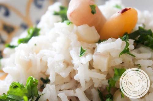 Receita de Arroz com Pinhão - um prato delicioso para a festa junina com a família!