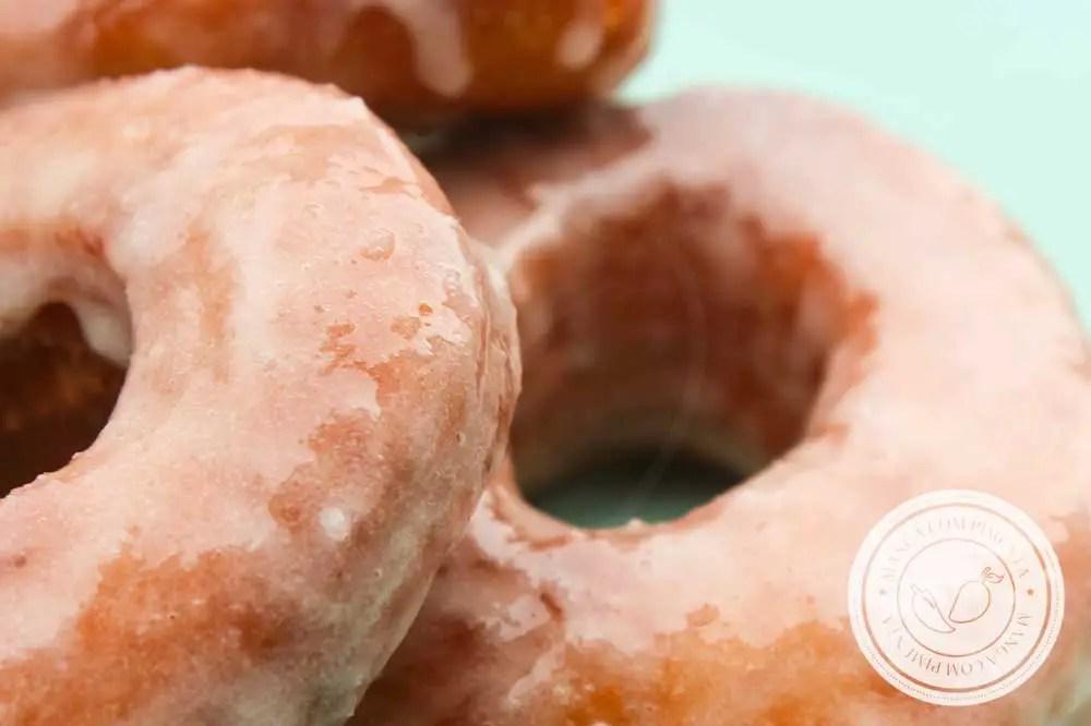 Receita de Donuts Americanos Caseiros- um lanche delicioso para família ou prepare para vender ou presentear!