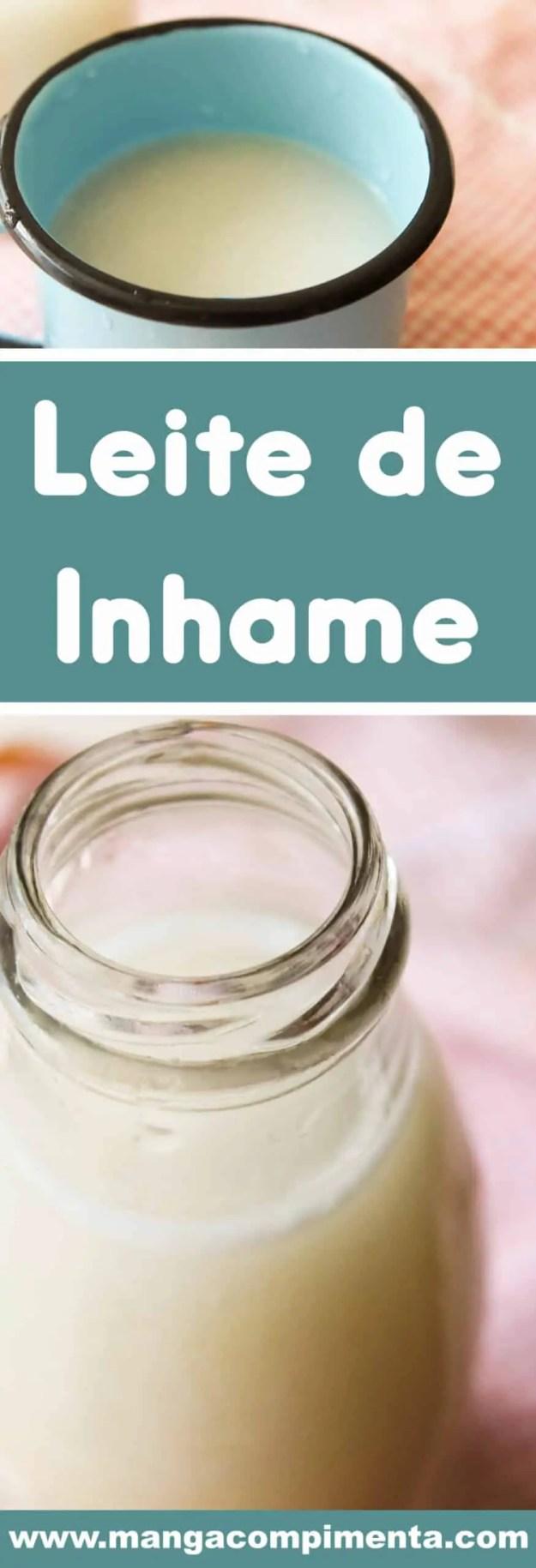Receita de Leite de Inhame - uma bebida vegana para usar em qualquer receita ou para preparar uma bebida no café da manhã.