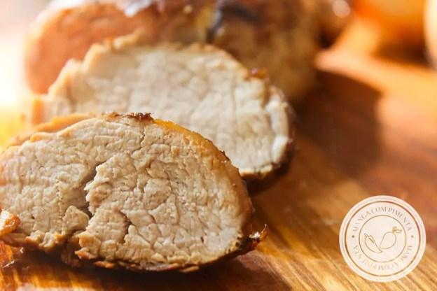 Receita de Filé Mignon Suíno na Panela de Pressão - para o almoço de domingo ou para as Festas de Final de Ano!