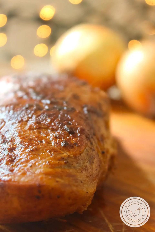 Receita de Carne de Porco