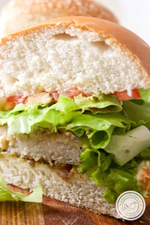 sanduíche de Peixe