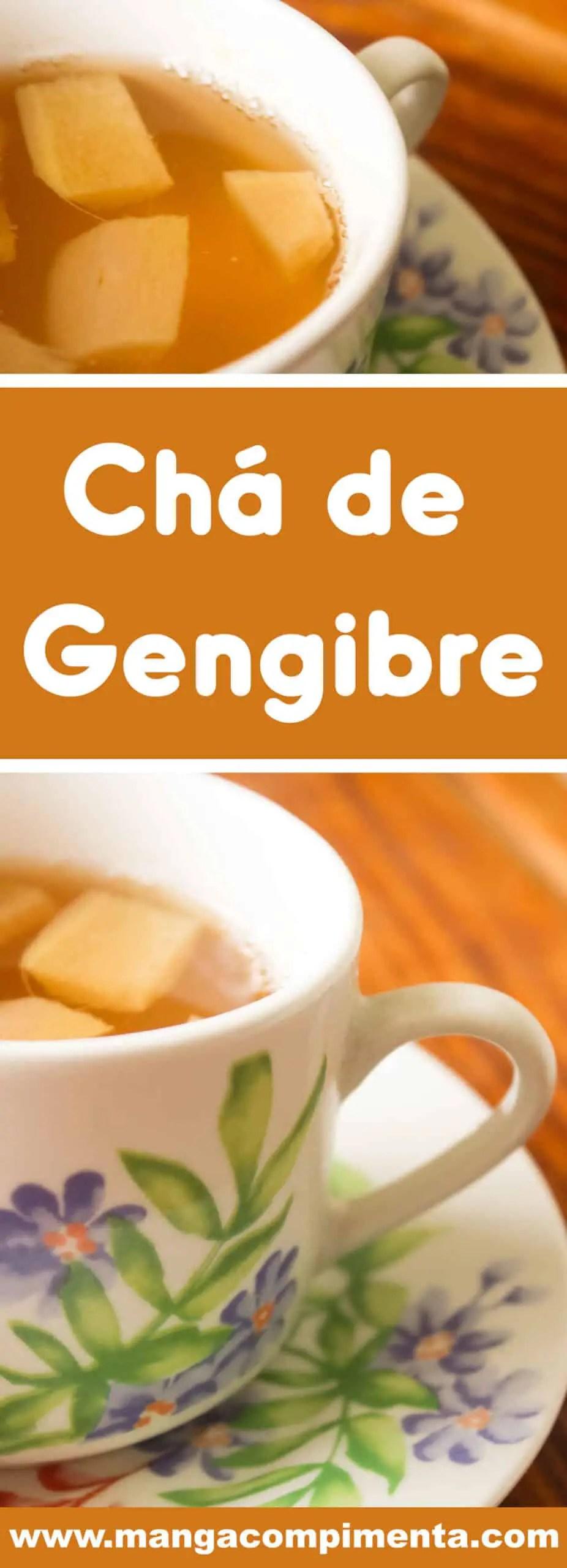 Receita de Chá de Gengibre - aprenda a fazer para os dias frios, uma bebida super nutritiva.