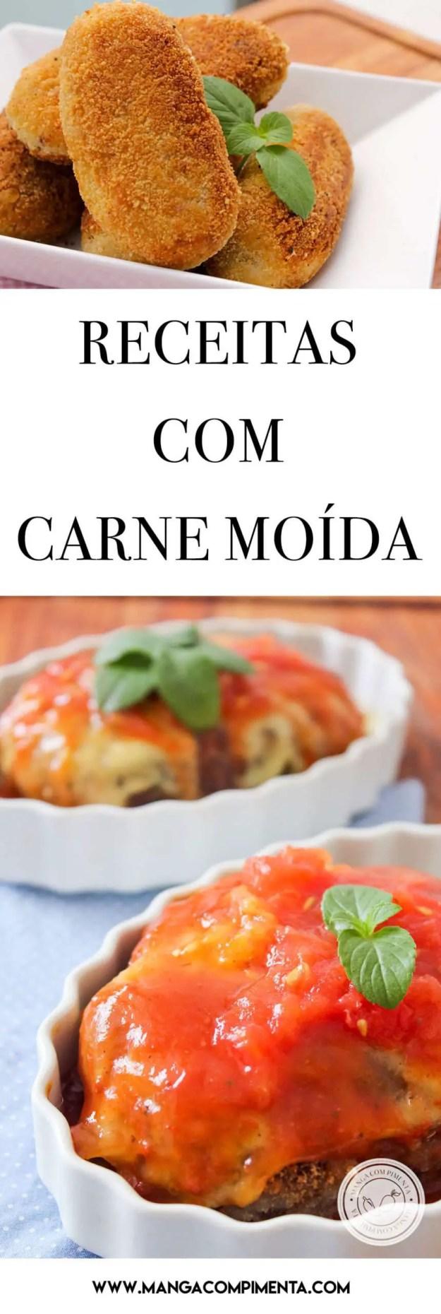 Receitas com Carne Moída - prepare 20 pratos deliciosos na sua casa!