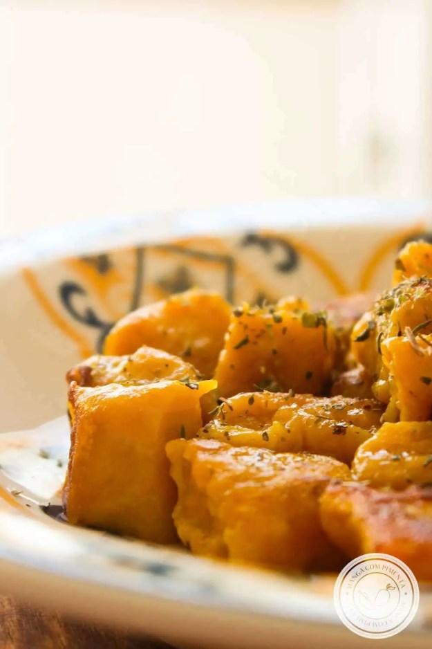 Receita de Nhoque de Abóbora - prepare essa delícia para o almoço de família no final de semana.