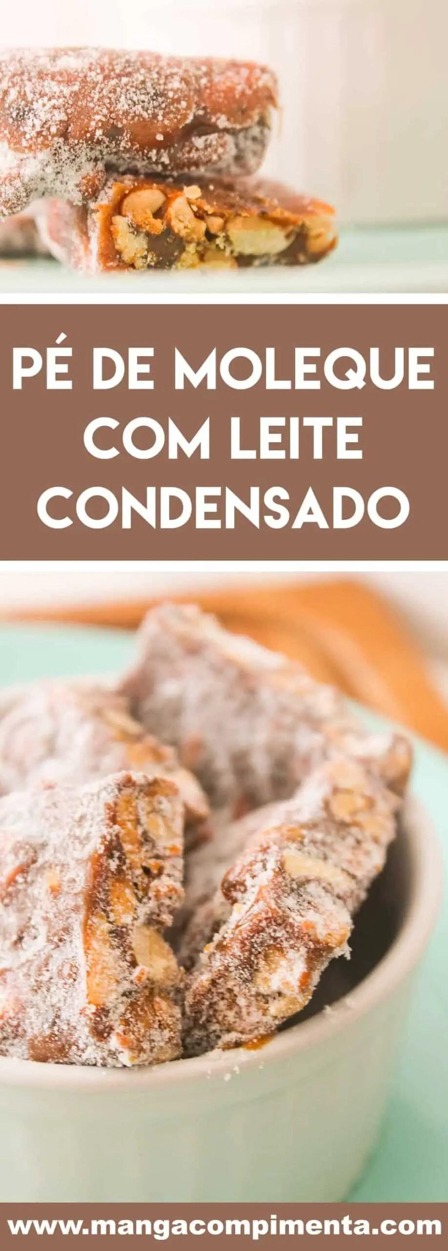 Receita de Pé de Moleque com Leite Condensado - prepare para servir na Festa Junina!