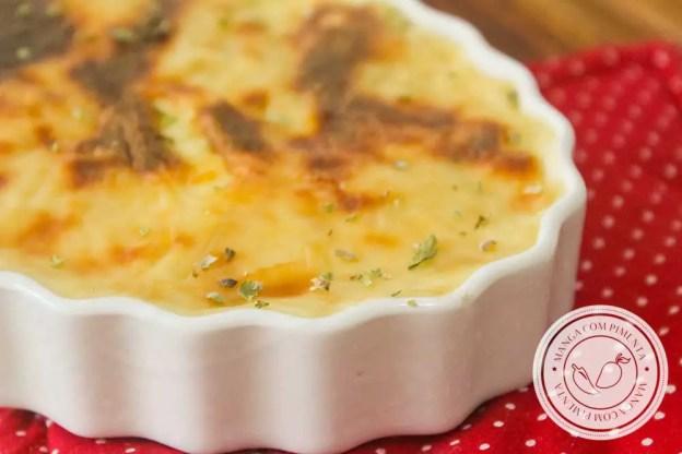 Receita de Espinafre Gratinado - prepare para o seu almoço ou jantar, prato delicioso!