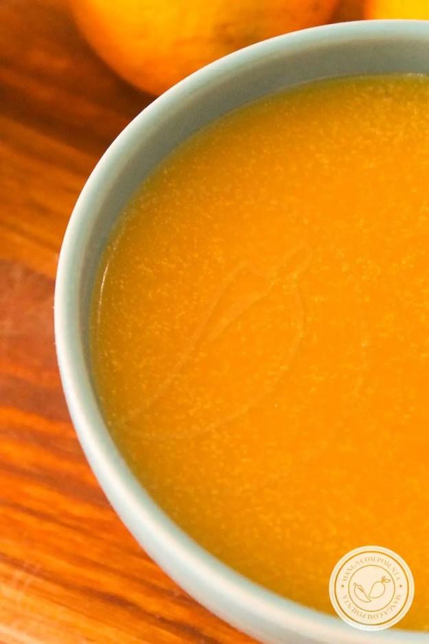 Sugoli d'arancia - Sobremesa da Vovó