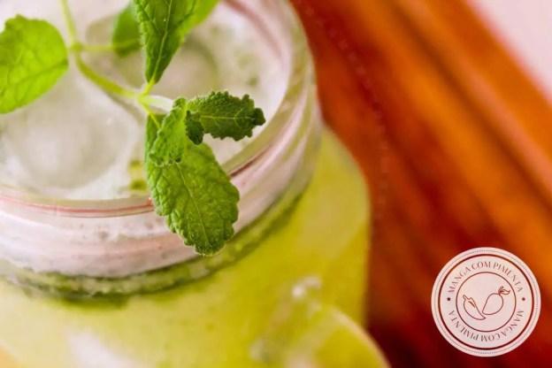 Receita de Limonada com Menta - prepare uma bebida refrescante neste verão.