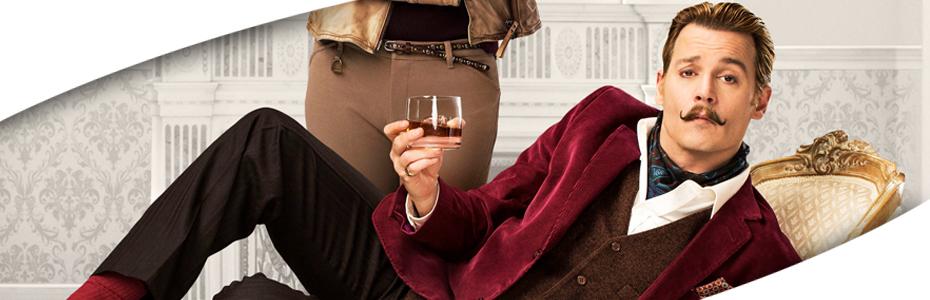 Los bigotes seguirán a la moda con Mortdecai, con Johnny Depp