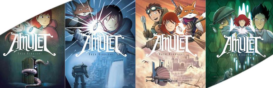La cadena Fox y Temple Hill llevará a la pantalla la novela gráfica de Kazu Kibuishi #Amuleth