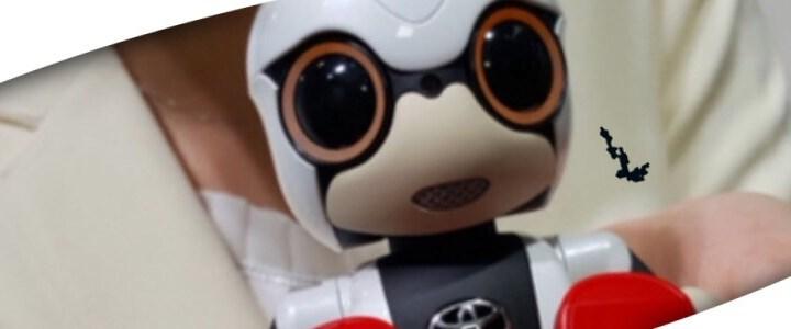 #KiroboMini de Toyota, la ternura hecha robot