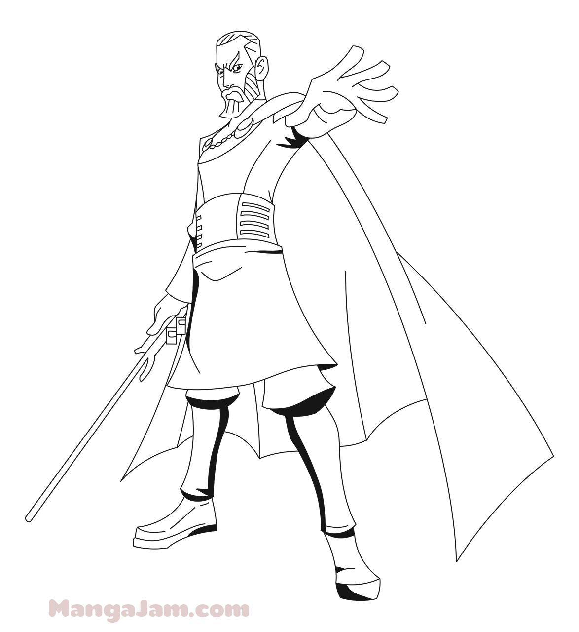 Star Wars Count Dooku Coloring Coloring Pages
