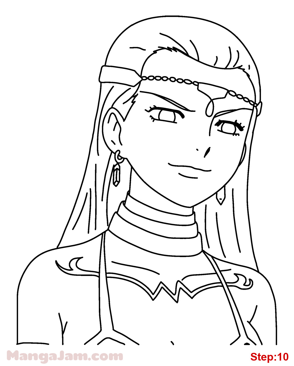Fairy Tail Celestial Key Coloring Pages