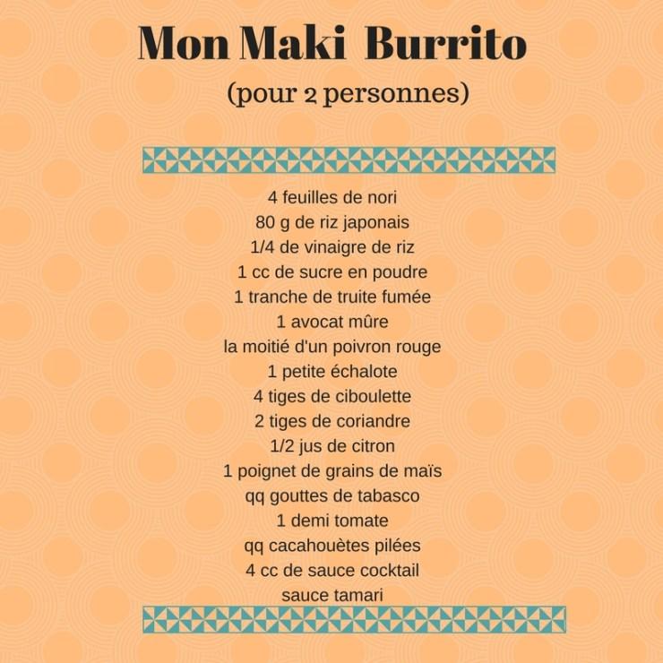 Mon Maki Burrito