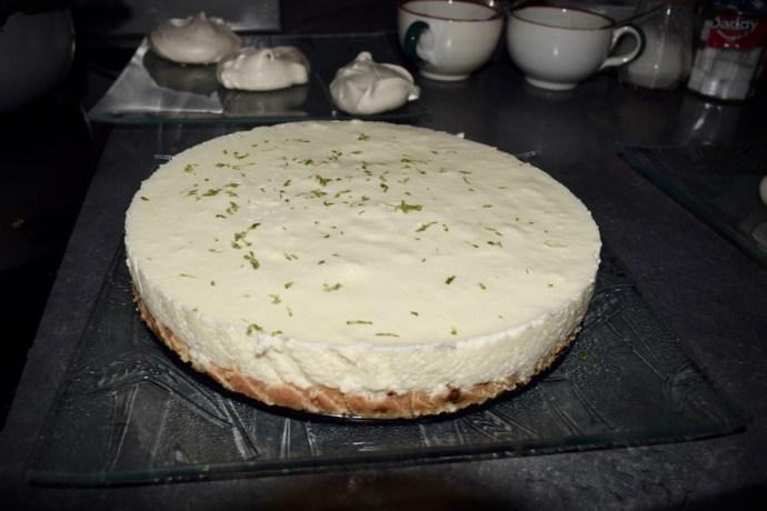 cheesecake citron vert sans cuisson