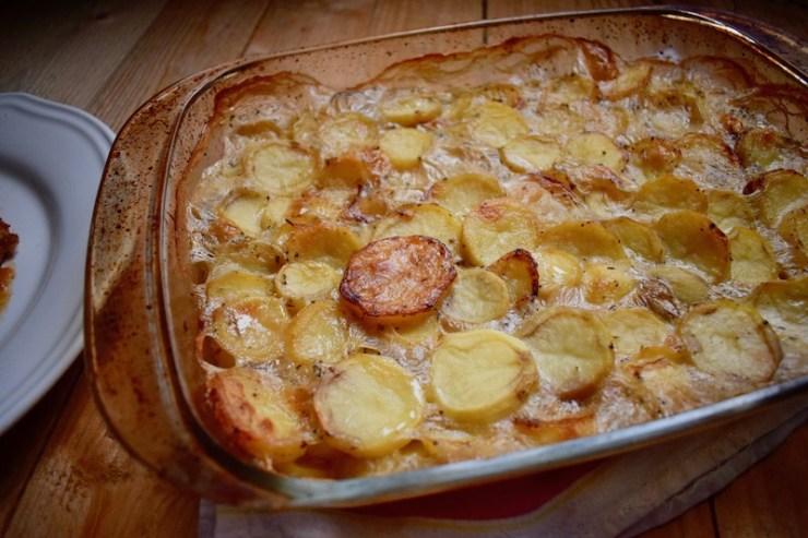 Pommes boulangère cap cuisine