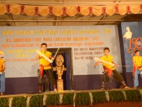 0078 Stick Dance by students of Alva College