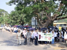 014 Students of Sahyadri Educational Institution in the rally