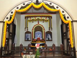 029 Shrine at the Ramakrishna Math