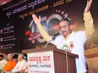 041 Capt Ganesh Karnik, MLC Addressing the gathering