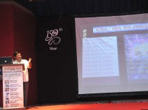074 Sri Satish H L Addressing the teachers