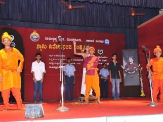 173 Drama - Mera Bharath Mahan by the Students of Sharada Vidya Nikethan Public School, Talapady