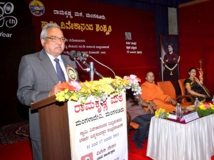 182 Prof T C Shivashankar Murthy addressing the Teachers