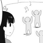 自閉症漫画38、なんで皆とダンスが出来ないのか