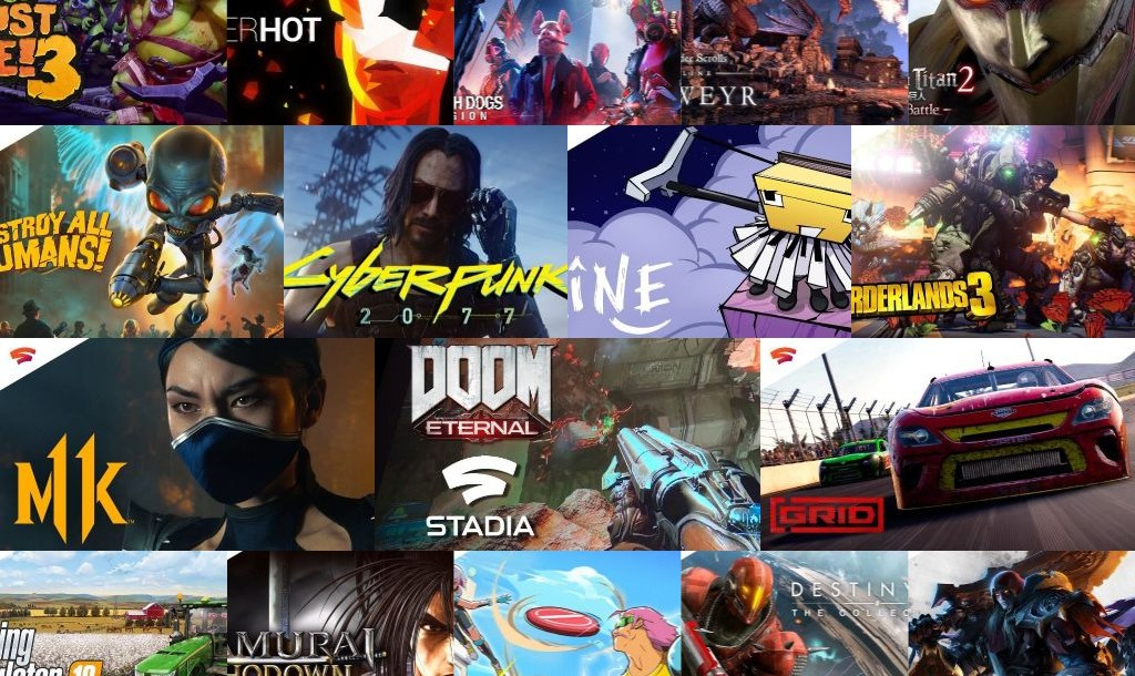Upcoming Games on Google Stadia