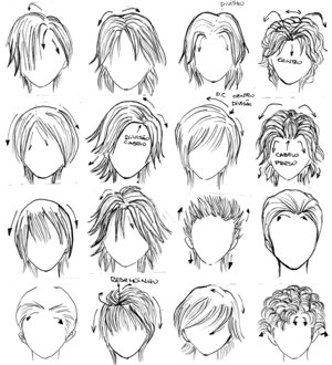The 88 Best Images About Manga Hair On Pinterest Boy Hairstyles
