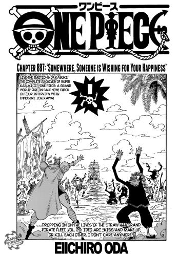 One Piece Chapter 887 : piece, chapter, Piece, Chapter