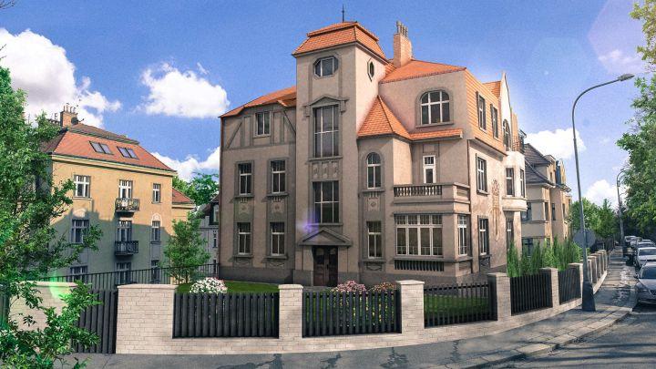 Teď můžete bydlet v rekonstruované secesní vile, kterou vlastnil továrník Karel Pašek