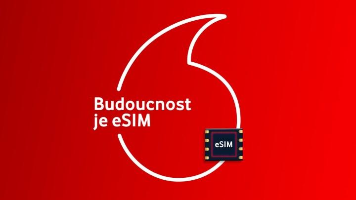 Řešení bez plastu: Zákazníci Vodafonu mohou začít používat eSIM