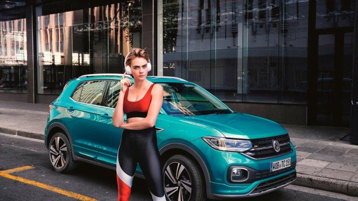 Volkswagen T-Cross a Cara Delevingne jako symboly všestrannosti