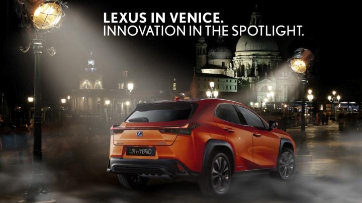 Lexus je opět oficiálním vozem mezinárodního filmového festivalu v Benátkách