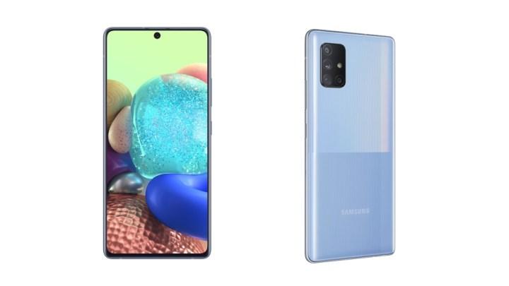 Samsung představil nové chytré telefony s 5G: Galaxy A71 5G a Galaxy A51 5G