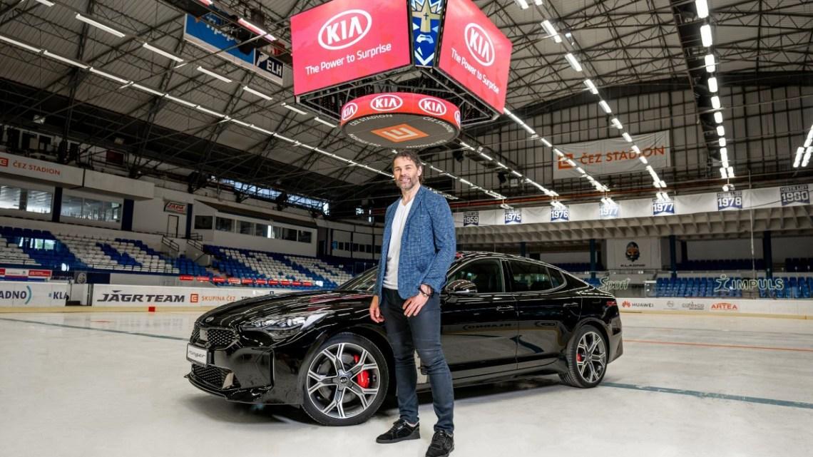 KIA se stala oficiálním partnerem Jaromíra Jágra a dodavatelem vozů pro hokejový klub Rytíři Kladno