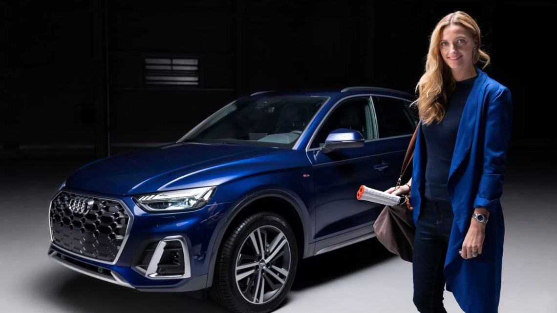 Petra Kvitová je novou ambasadorkou značky Audi v České republice