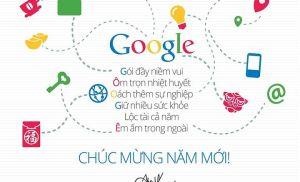 Google chúc tết 2014