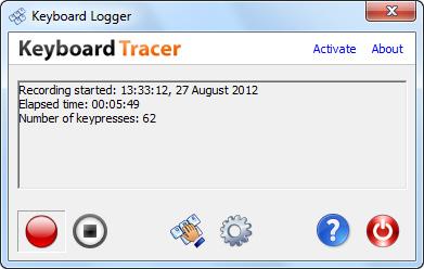 Theo dõi hoạt động bàn phím với Keyboard Tracer