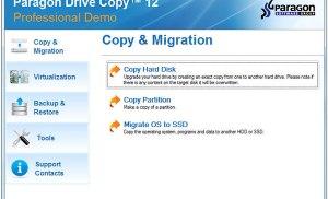 Paragon Drive Copy – Sao chép cả ổ cứng