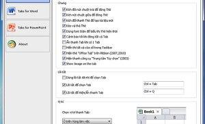 Đưa tính năng duyệt thẻ vào Microsoft Office