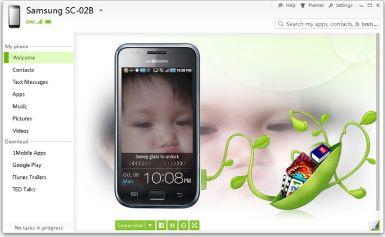 SnapPea – Mang cả chiếc điện thoại lên máy tính của bạn