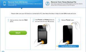 Dr.Fone – Công cụ phục hồi dữ liệu trên iPhone, iPad, iPod