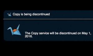 Dịch vụ lưu trữ trực tuyến Copy sẽ đóng cửa vào ngày 1 tháng 5 tới