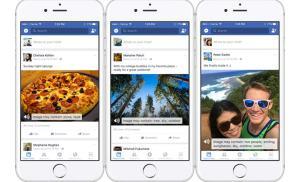 """Facebook phát hành công nghệ giúp người khiếm thị có thể """"xem"""" hình ảnh"""
