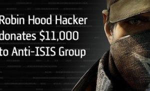 Hacker trộm $11000 từ ngân hàng và tặng cho lực lượng chống IS